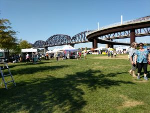 Big Four Arts Festival on Big 4 Bridge Art Music Louisville food and Fun Kid event in Kentucky (1)