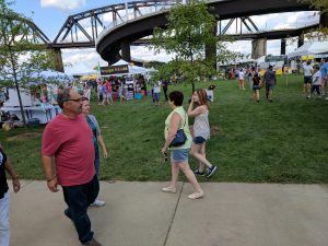 Big Four Arts Festival on Big 4 Bridge Art Music Louisville food and Fun Kid event in Kentucky (162)