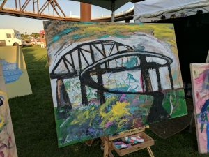 Big Four Arts Festival on Big 4 Bridge Art Music Louisville food and Fun Kid event in Kentucky (181)