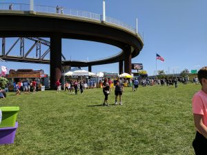 Big Four Arts Festival on Big 4 Bridge Art Music Louisville food and Fun Kid event in Kentucky (411)