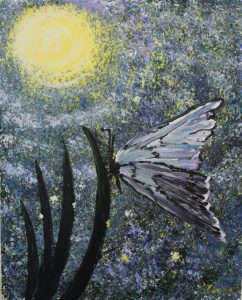 Butterfly Tranquility Paint & Sip Kit